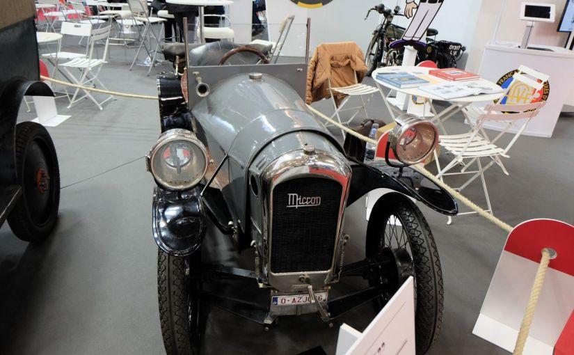 Cyclecar MICRON Monocar 1924