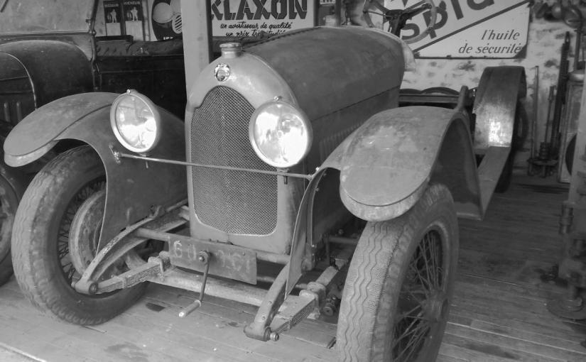 Lorraine Dietrich 15 CV de 1925 à restaurer