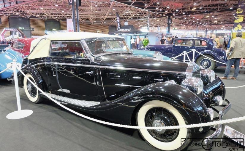 Delage D6-70 Cabriolet Chapron 1937