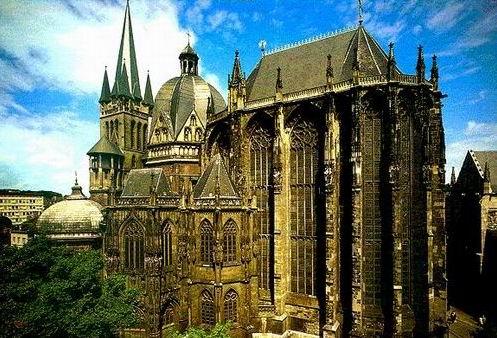 La Catedral de Aquisgrán, en Alemania : Patrimonios de la Humanidad