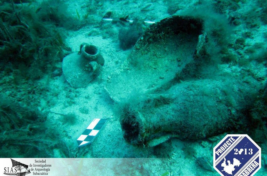 Arqueólogos obtienen en Cabrera más datos de un navío