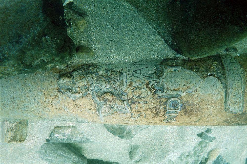 Descubren los restos de un navío de la Armada Invencible