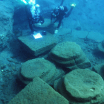 Eolie, bajo el agua descubrió el puerto romano de Lipari