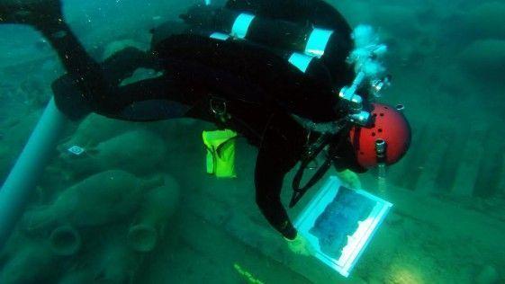 La aventura de un arqueólogo náutico sobre un pecio de la antigüedad…