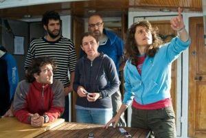Briefing previo sobre el yacimiento arqueológico del Ouest Giraglia2. Foto Seguin