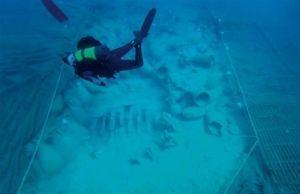 Detalle de parte de la excavación del Bou Ferer.