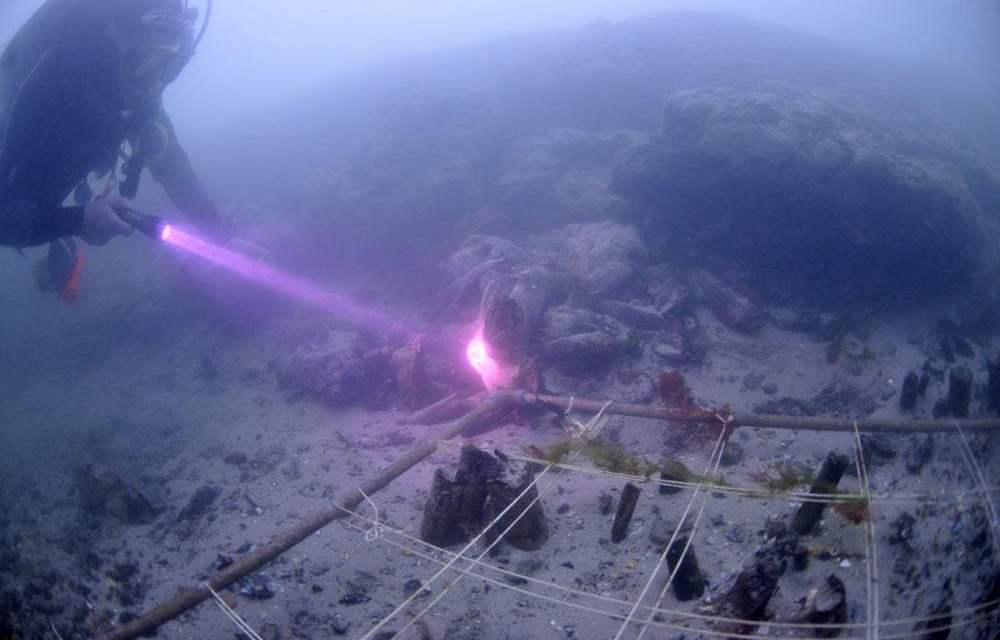 El pueblo sumergido de 8.000 años de antigüedad descubierto gracias a una langosta
