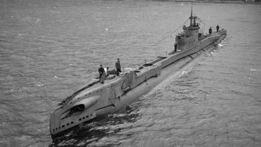 Aparece un submarino británico destrozado por un carguero alemán en 1940