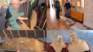 La Guardia Civil y ARQVA celebran las 'III Jornadas de Protección del Patrimonio Cultural Subacuático' CARTAGENA (MURCIA) | EUROPA PRESS