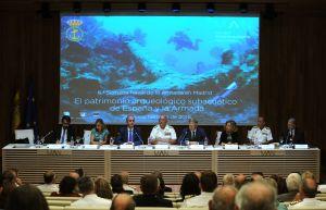 Madrid, 21/09/2016. Mesa redonda bajo el título «El patrimonio arqueológico subacuático de España y la Armada» en la 6ª Semana Naval. Foto: Belén Díaz. ARCHDC