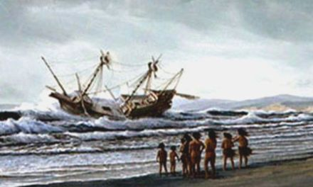 El naufragio del galeón San Agustín, origen de los objetos asiáticos hallados en tumbas Miwok de California