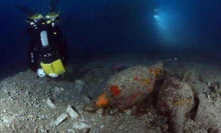 Encuentran un barco romano del siglo I d.C. a 40 metros de profundidad en la Costa Brava