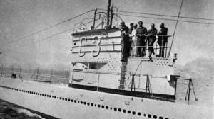 Fotografía, fechada en 1936, del submarino C-3.