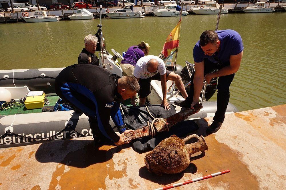 Dos hallazgos arqueológicos refuerzan la teoría de que Cullera tiene su origen en la romana Sucro – Proyecto de Prospección Arqueológica Subacuática Bahía de Cullera