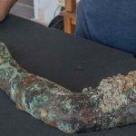 Descubren brazo de bronce en el naufragio de Antikythera