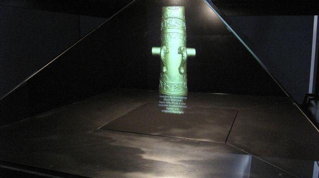 El Museo Nacional de Arqueología Subacuática ARQUA incorpora un holograma del cañón Santa Bárbara a su exposición temporal sobre el yacimiento de 'las Mercedes'