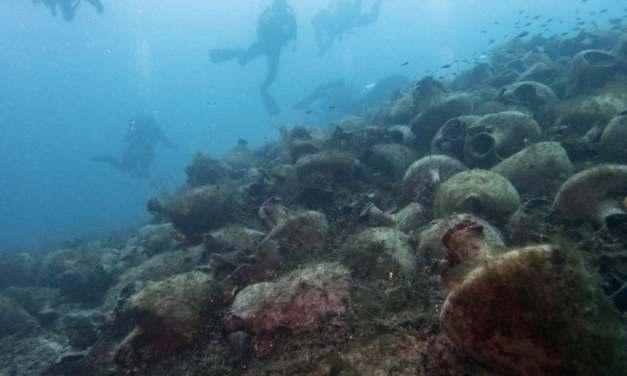 Grecia convierten un antiguo naufragio en un museo arqueológico bajo el mar
