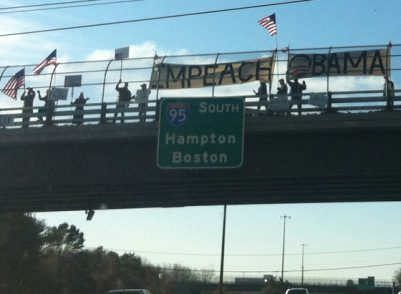 Impeach Obama' Supporters Rally in Portsmouth