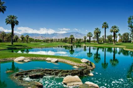 Golfing at Rancho Marage