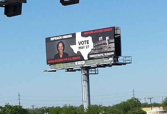 Kesha Roberts - Impeach Obama Billboard