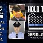 Philadelphia Police Officer James O'Connor fundraiser killed in line of duty hold the line fundraiser