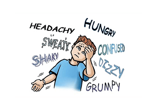 signs of having hypoglycemia
