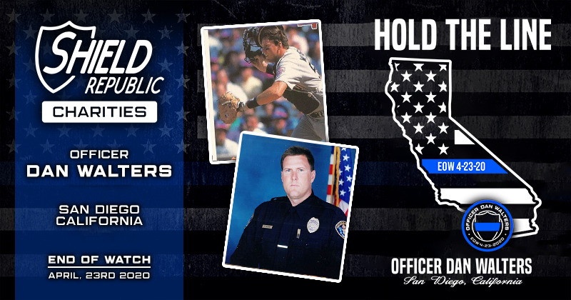Officer Dan Walters SDPD fundraiser fallen officer