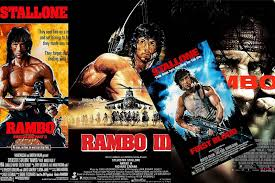 Rambo movie posters