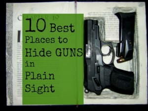10 Best Places To Hide Your Guns In Plain Sight Patriot