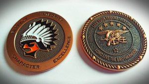 Brother Rice SEAL Challenge Coin