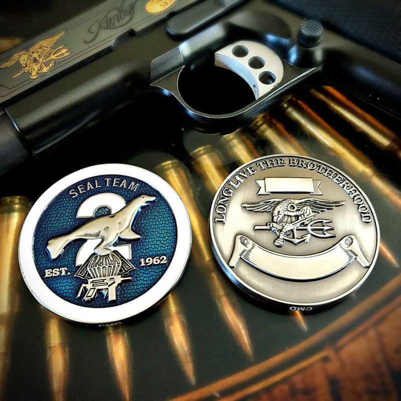 SEAL Team Two coin
