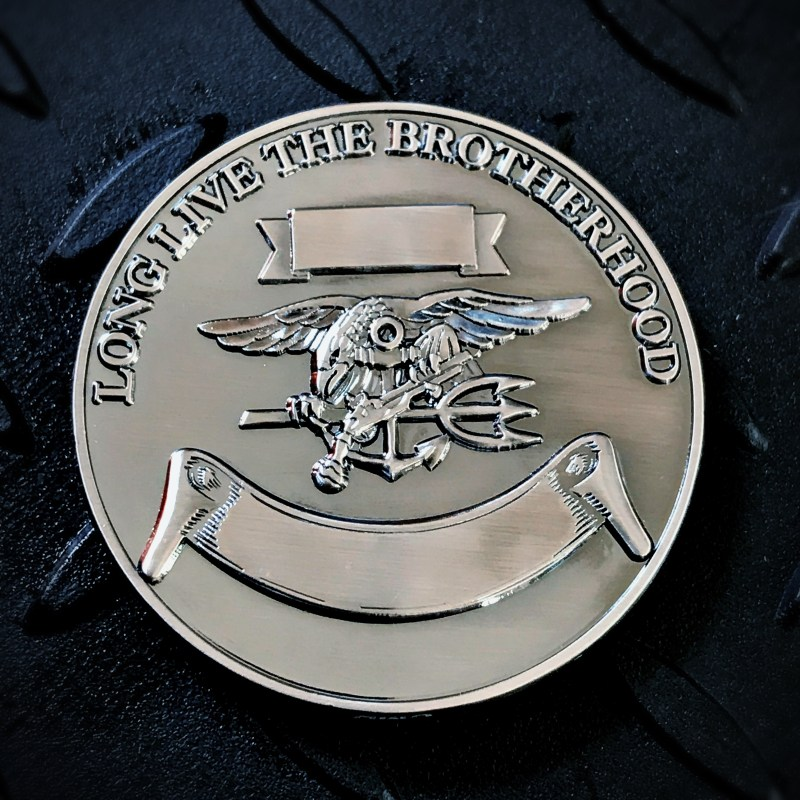 SEAL coin back