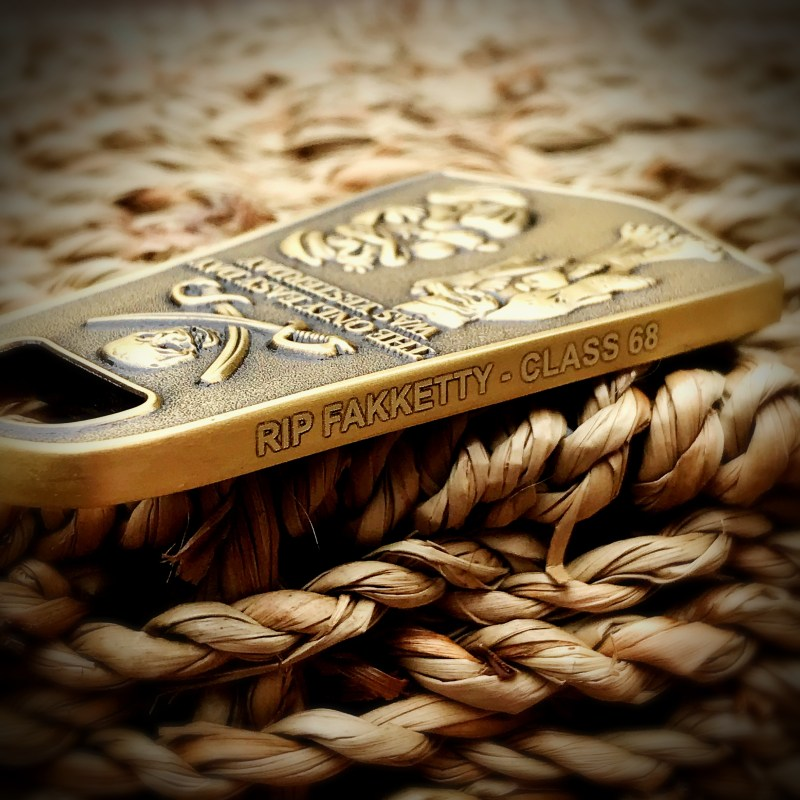 Dive Fin engraved - RIP Fakketty