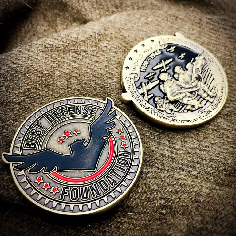 WWII Anniversary coin