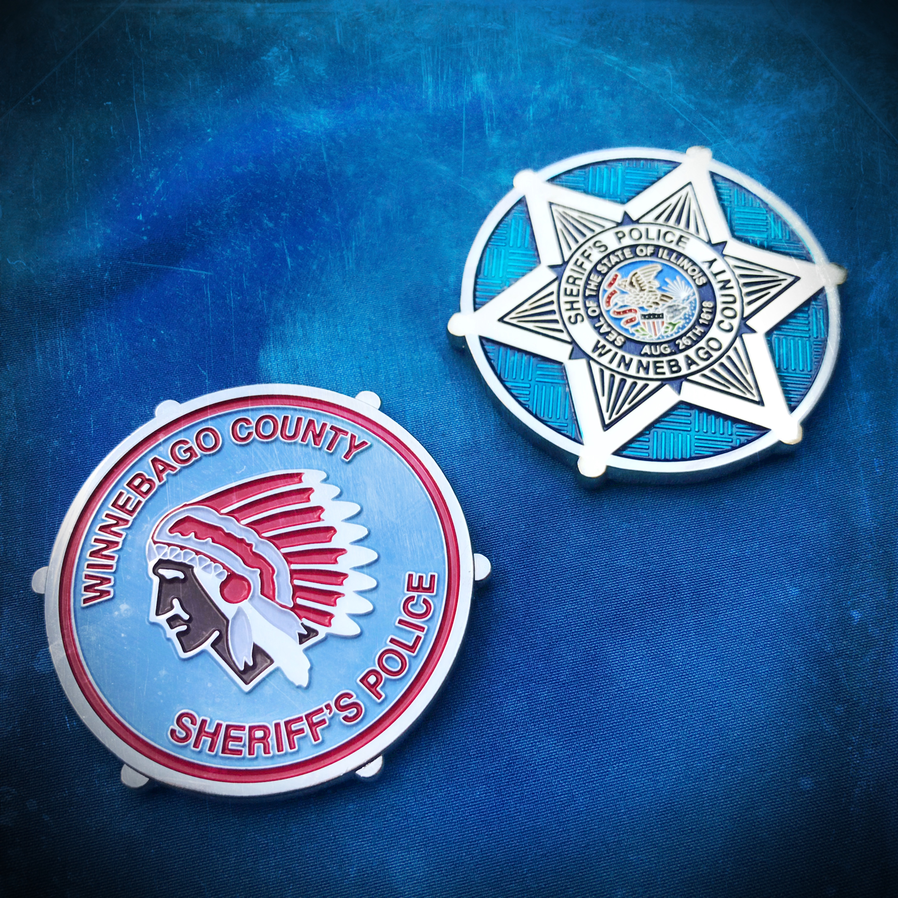 Winnebago Sheriff coin