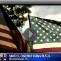 Video : Tennessee School Bans American Flag