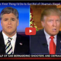 """Trump On Obama's """"Executive Amnesty"""" For Illegal Aliens: """"I Will Knock Out That Executive Order So Fast Your Head Will Spin"""""""