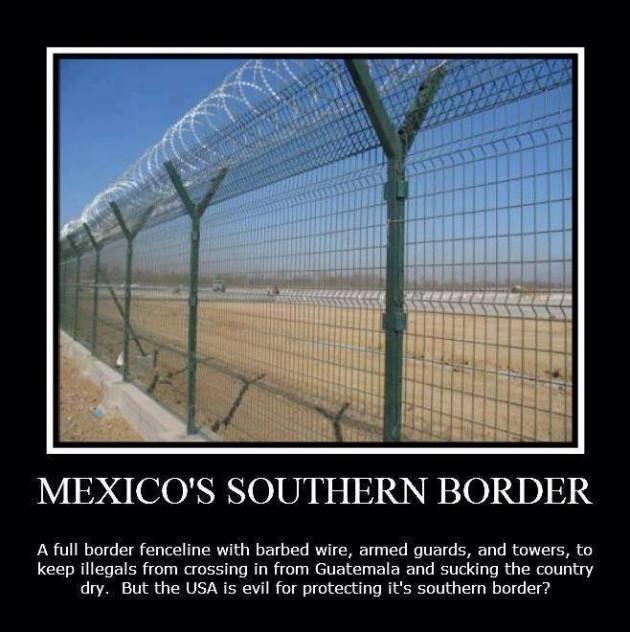 Southern Border Mexico