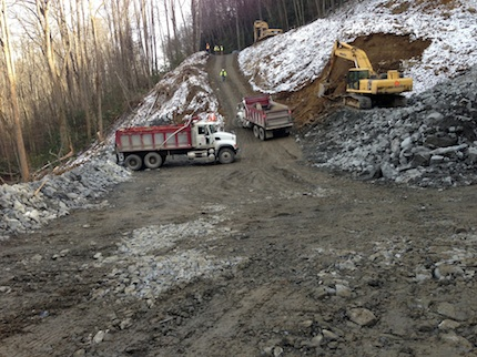 GRSM-Newfound Gap Roadwork NPS 430