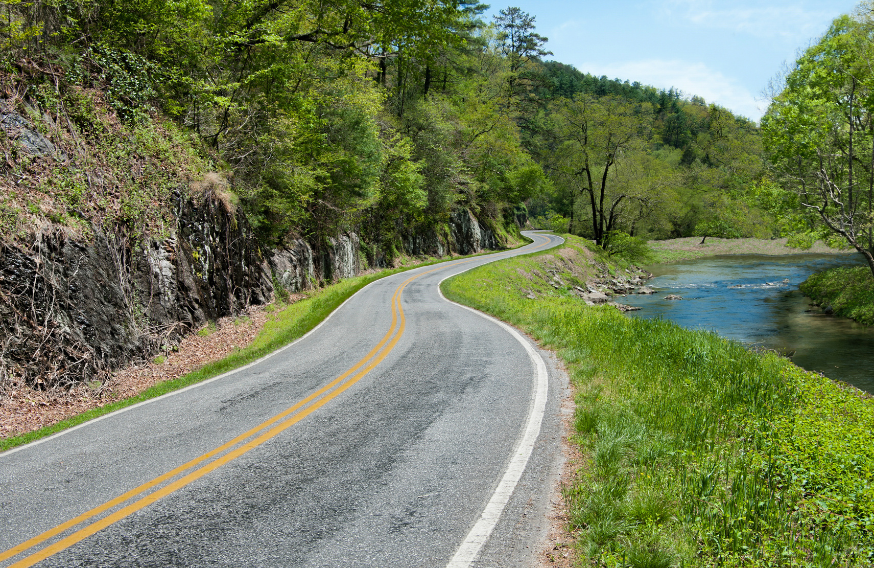 the best scenic drives through the smoky mountains tn