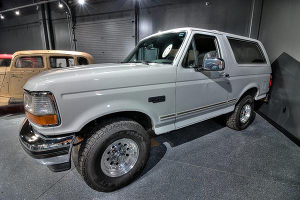 OJ Simpson's White Bronco