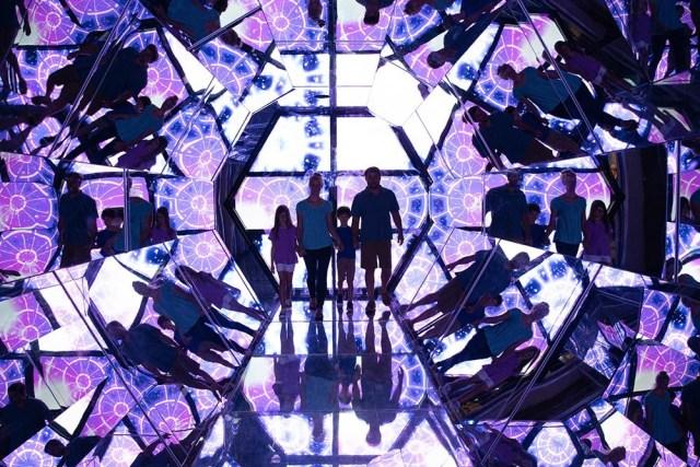 Human Kaleidoscope exhibit at Beyond the Lens