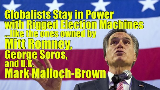 Romney rigged elections