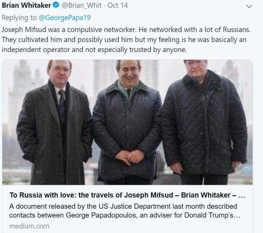 Brian Whitaker tweet