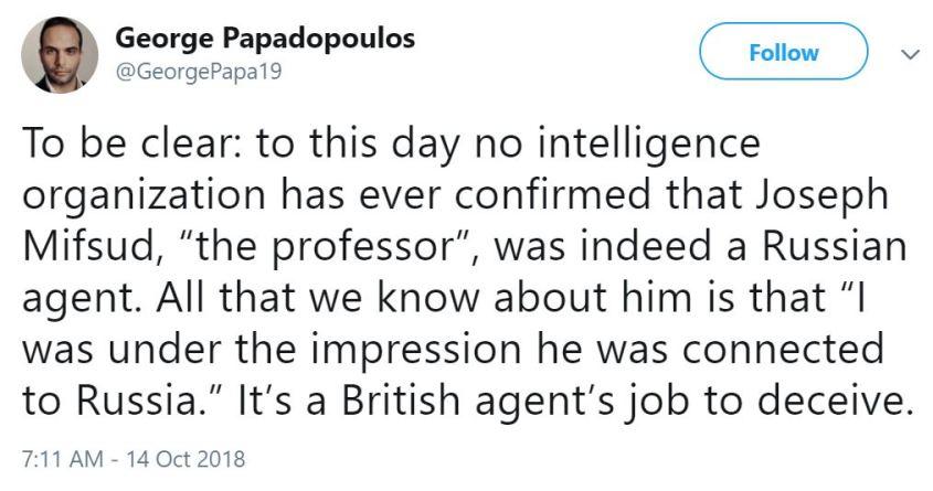 George British spy