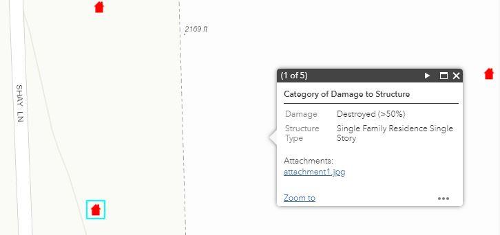 damage map