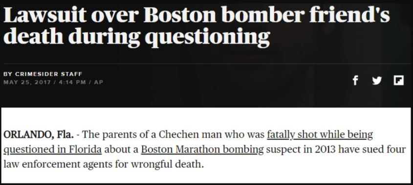 Boston bomber