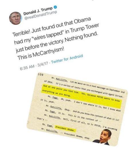 trump wiretap tweet