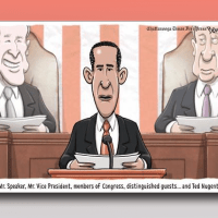 President Obama Addresses Congress and His Arch Nemesis