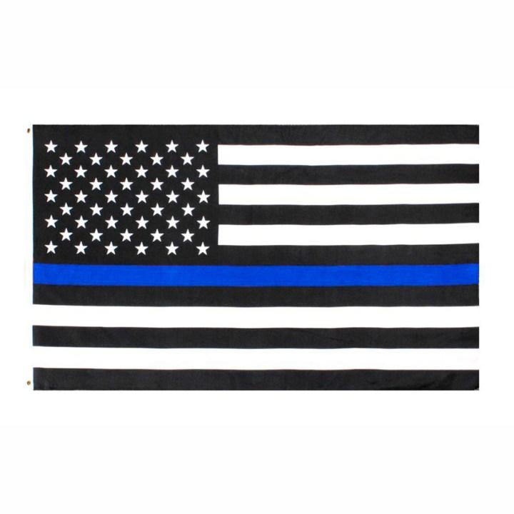 Thin Blue Line – Back the Blue flag